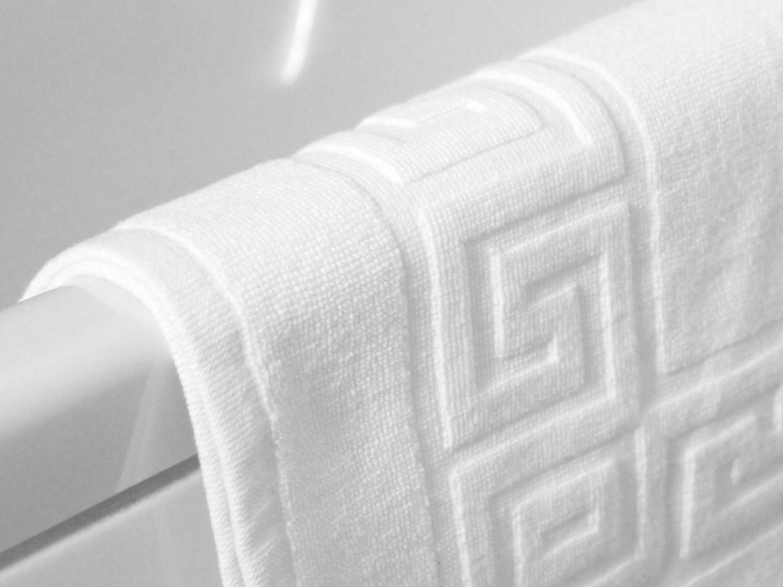Toalla greca mejore la experiencia del cuarto de ba o con esta lujosa colecci n de toallas de - Textiles para hosteleria ...